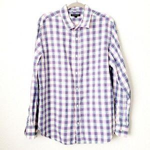 Banana Republic Factory Linen Button Down Shirt XL